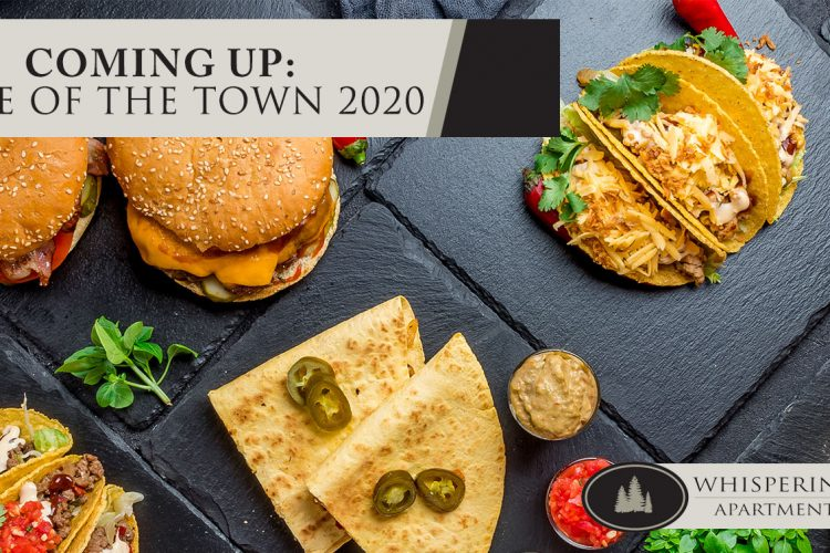 Coming Up: Taste of the Town 2020