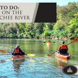 Kayaking on the Chattahoochee River