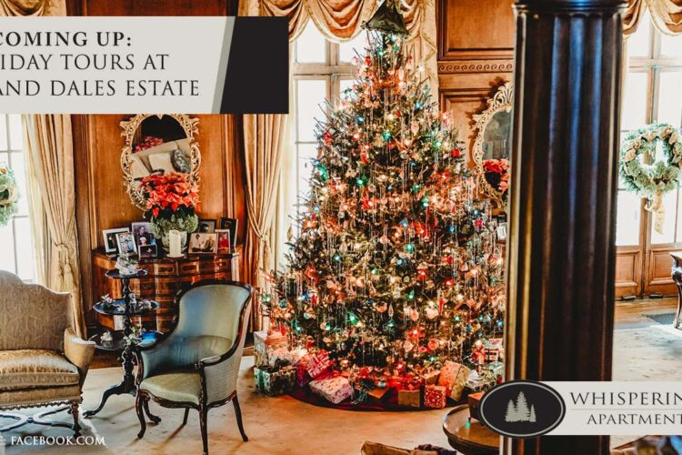 Coming Up: Holiday Tours at Hills and Dales Estate