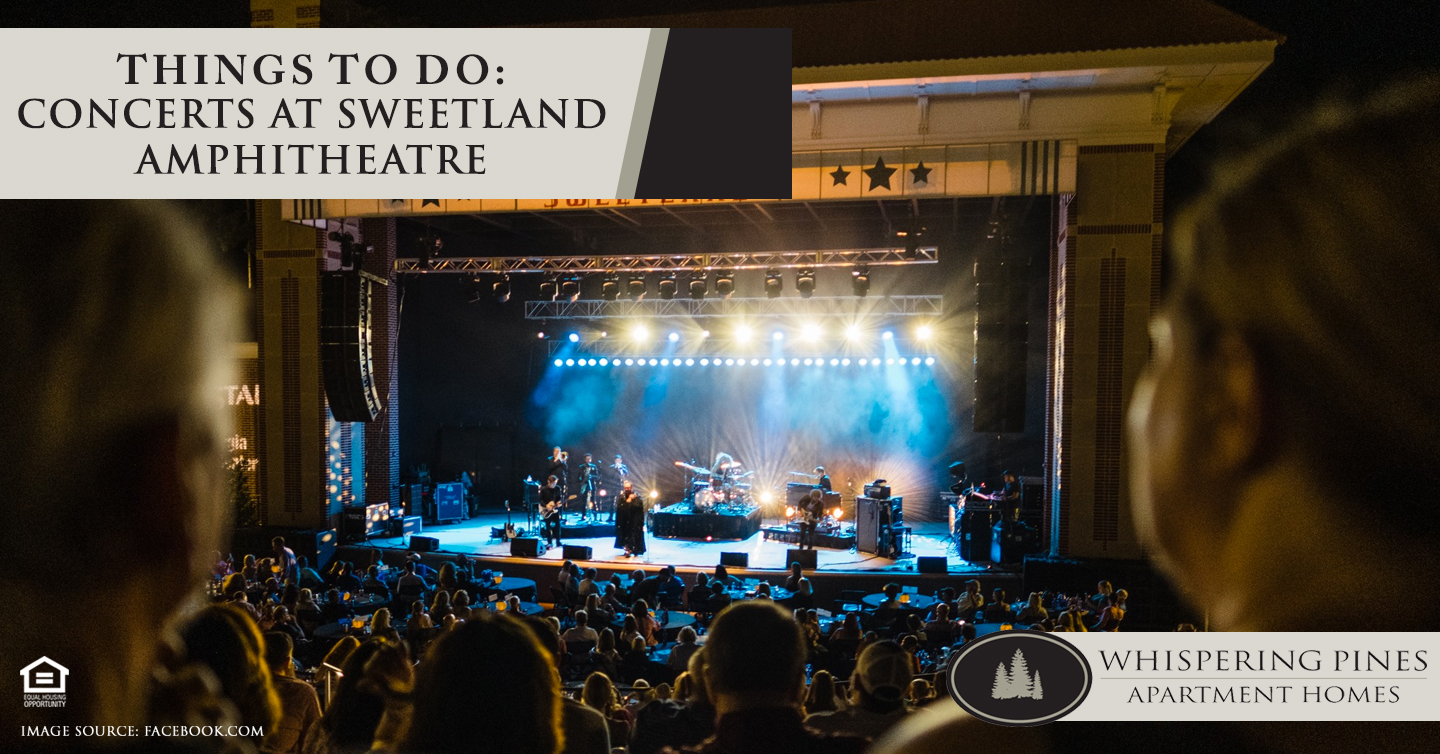 Things to Do: Concerts at Sweetland Amphitheatre