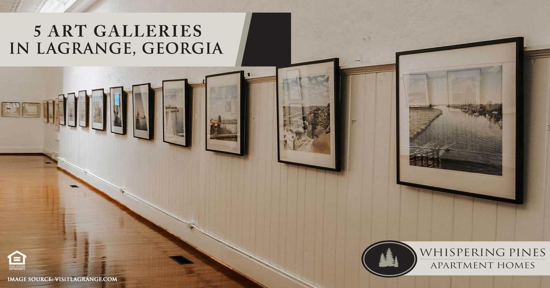 5 Art Galleries in LaGrange, Georgia
